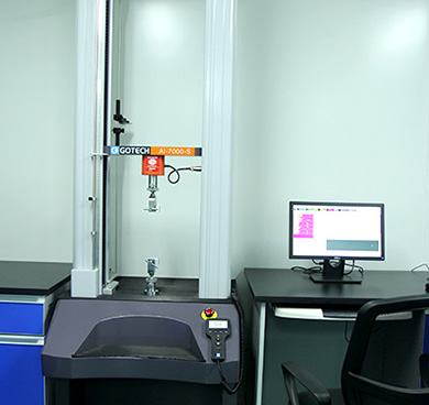 Electronic single yarn strength tester