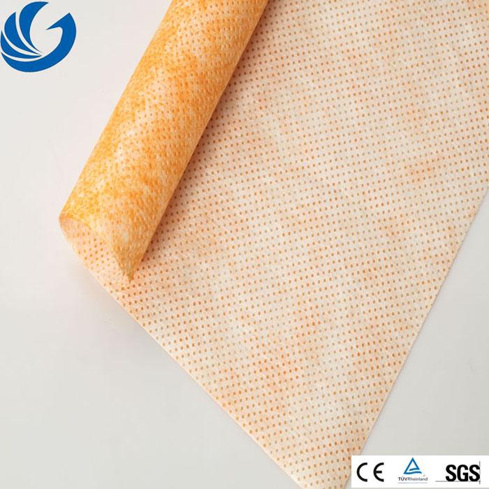 Single Surface Float Silk Nonwoven Fabrics